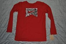 Nike Youth Boys Thermal Long Sleeve Shirt Red/White/Black  NWT FAST HANDLING