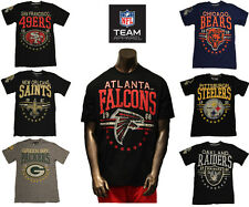 2013 NFL Big Time Distressed T-Shirt Licensed Assorted Teams S to 5XL