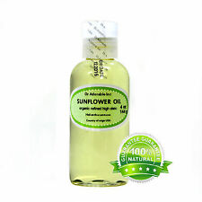 Organic Sunflower Oil High Oleic 2 oz up to gallon  Cold Pressed Free Shipping!!
