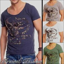 NEW MENS SHORT SLEEVE SHIRTS MEN CASUAL FASHION CLOTHES MEN'S T SHIRT print TOP