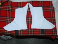 HIGH QUALITY 8 BUTTON CANVAS SPATS WITH VELCRO CLOSURE