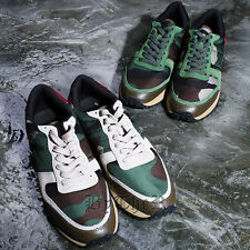 ByTheR Stylish Modern Camouflage Sneakers Military SFSELFAA0015613 CA