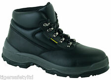 Capps LH811 S2 Black Ladies Safety Boots Steel Toe Cap Work Boot Footwear PPE