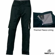 Delta Plus Panoply M2PAW Black Mach2 Mens Warm Lined Cargo Winter Trousers Pants