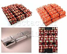 """12 Pack 14"""" Traditional Christmas Tree Decorations Xmas Party Table Crackers"""
