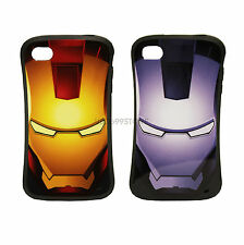 IPHONE 5 IRON MAN HARD FITTED CASES-PLASTIC CASE COVER SLEEVES FOR IPHONE 4 4S