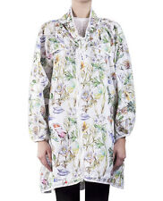 Adidas X Stella McCartney Run Parka Women's White/Floral Jacket NEW! Very Rare!