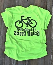 Cool Bike Bicycle Tee Shirt T-Shirt Addiction is a Sweet Thing Cyclist Lovers