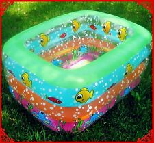 PVC Inflatable Swim Rings Baby Kids Child Children Toddler Indoor Swimming Pools