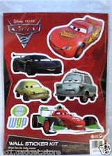 Disney Pixar Cars 2: Wheelie Bin/ Wall Sticker Kit Kids Film Cartoon - 3 Styles