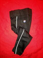 TeamWorks Low Rise Softball Pant Black w/ White Piping - YS and A2XS