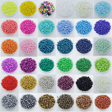 1000 pcs 2mm Czech Glass Seed Spacer beads Jewelry Making DIY Pick 36Color-1 Z19
