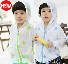 LIGHT HOODIE JACKET BOYS/GIRLS available in 2 COLOURS  (S,M,L,XL)