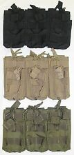 Condor MA44 5.56mm Triple STACKER Mag Pouch Magazine MOLLE OD Black Coyote 223