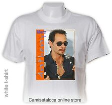 MARC ANTHONY  T shirt - AMERICAN SONGWRITER - RECORD PRODUCER  SALSA - LATIN POP
