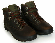 Timberland Men's Leather Boots Euro Hiker 95100 Brown New Authentic