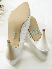 I Do, She's Mine, Im Taken, Help and Yes Dear Shoe Decal For Bride/Groom's Shoes
