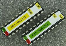 GPIO & PWM IC for Raspberry Pi with I2C or Serial Interface, opt PCB kit P015