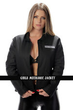 SONS OF ANARCHY Mechanics Jacket Zip Up SOA Embroidered Women's S-2XL