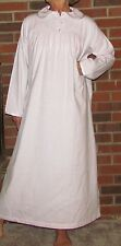 """Nightgown Ladies Long Cotton Flannel """"Made in USA"""" Think Gift!!"""