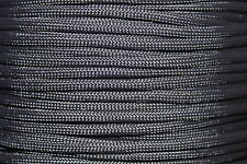 Midnight Blue 550 Paracord Mil Spec Type III 7 strand parachute cord 10-100 ft