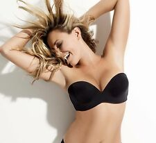 Wonderbra Ultimate Strapless Bra 9335 Black Sizes 30-38 A-G cups