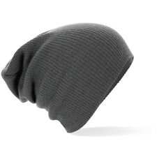 B461 Knitted Oversized Slouch Baggy Winter Warm Beanie Hat  Mens/Ladies 7 Colors