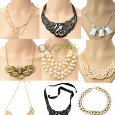 New Wome Girl's Hot Selling Fashion Mixed Style Bib Necklace 8 Style U pick # 98
