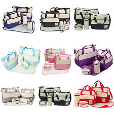 5pcs Baby Nappy Changing Bags High Quality