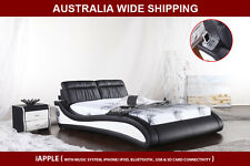 Brand New Modern iApple Queen / King Size PU Leather Bed Frame * Free Pick Up*