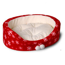 New Style Bowl Shaped Red Dog Cat Bed Pet House