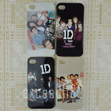 New 1D One Direction Pattern TPU Gel Soft Back Cover Case For iPhone 4 4G 4S