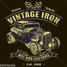 Hot Rod T Shirts Custom Rat Rod Cool Vintage Race Car Small to 6XL Big Tall