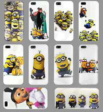 NEW DESPICABLE ME 2 CUTE MINIONS HARD CASE COVER for iPhone 5C 5S 5G 5 4S 4G 4