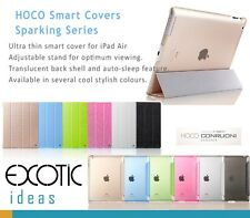 HOCO Smart Cover Sparking Series for iPad Air - Glitter Colors w Translucen Back