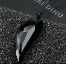 Wolf Tooth Swarovski Crystal Pendant/Necklace for Men & Women 3CM