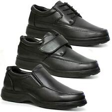 MENS COMFORT SHOES CASUAL SMART FORMAL WIDE FIT OFFICE DRIVING WORK DRESS SIZE
