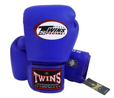 NWT Twins Special Muay Thai MMA K1 Boxing Gloves BGVL3 Blue Training Sparring