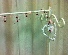 LED CHRISTMAS GARLAND BERRY SHABBY CHIC TREE FIREPLACE PRE-LIT XMAS DECORATION