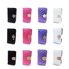 RM FL Bling Leather Wallet Card Holder Case Cover for Samsung Galaxy Ace S5830