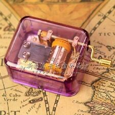 14X DIFFERENT SONGS FOR PURPLE HAND CRANK MUSIC BOX: YOU ARE MY SUNSHINE