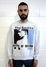 THE SMITHS SWEATSHIRT MORRISSEY GREY HATFUL OF HOLLOW PUNK ROCK T-SHIRT BLUE