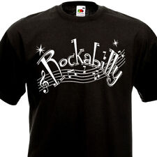 T-Shirt ROCKABILLY - Rock'n'Roll Fifties 50's 60's Vintage Rockers SUN Retro Tee