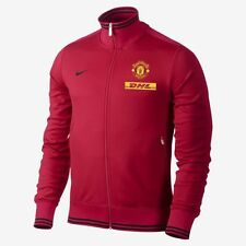 New Nike Men's Man United Red N98 Jacket M L XL XXL Tracksuit Top National 98