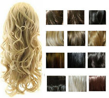 NEW VIRTU KATIE WEAVE HALF HEAD WOMENS CURLY LONG SYNTHETIC WIG ALL COLORS