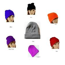 WARM KNIT WINTER HAT BEANIE SKI HAT SKULL CAP MEN WOMEN BOY GIRL UNISEX BEANIE