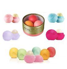 EOS Evolution of Smooth Smooth Sphere Organic Lip Balm/Set of 6 - UK SELLER