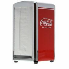 "TableCraft Coca-Cola / Coke ""Drink Coca-Cola"" Napkin Dispenser / Holder"