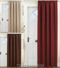 THERMAL DOOR CURTAIN. 66 x 84 (168x213cm  drop).ENERGY SAVING.NEXT DAY DELIVERY