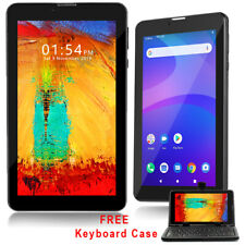 "Unlocked! 7.0"" Android 4.4 Phablet GSM Dual-Sim Tablet 3G Phone FREE Smart Cover"
